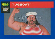 1991 WWF Classic Superstars Cards Tugboat 48