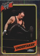 2008 WWE Heritage III Chrome Trading Cards Undertaker 57