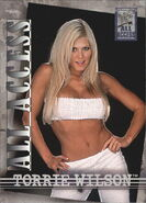 2002 WWF All Access (Fleer) Torrie Wilson 43