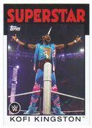 2016 WWE Heritage Wrestling Cards (Topps) Kofi Kingston 24