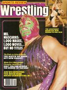 Sports Review Wrestling - February 1982
