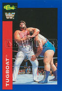 1991 WWF Classic Superstars Cards Tugboat 80