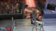 WWE SvR11-Jericho-Orton Ladder2