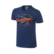 WrestleMania 33 Navy Ringer T-Shirt