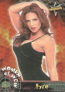 1999 WCW Embossed (Topps) Fyre 66