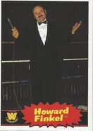 2012 WWE Heritage Trading Cards Howard Finkel 80