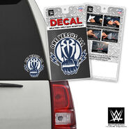Roman Reigns One Versus All Car Decal