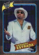 2008 WWE Heritage III Chrome Trading Cards Armando Estrada 26