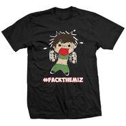 Lufisto LuFisto Hates the Miz!! Shirt
