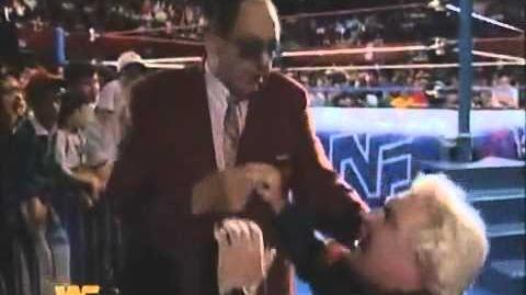 Gorilla Monsoon Fires Bobby Heenan on RAW