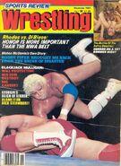 Sports Review Wrestling - November 1981