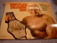 1986 WWF Wrestling Calendar