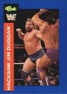 1991 WWF Classic Superstars Cards Hacksaw Jim Duggan 6