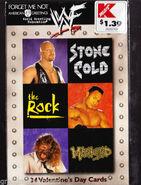 1999 WWF Valentine's Day Cards