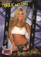 2002 WWE Absolute Divas (Fleer) Torrie Wilson 87