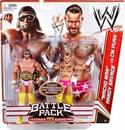 WWE Battle Packs 14 Macho Man Randy Savage & CM Punk