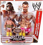 WWE Battle Packs 14 Macho Man Randy Savage & CM Punk