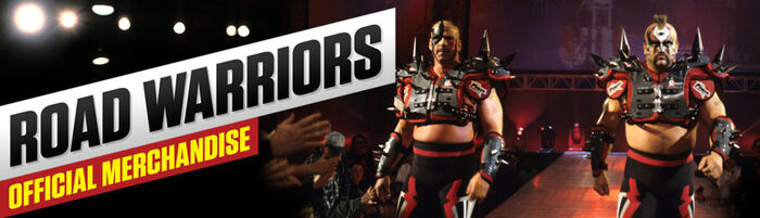 Road Warriors Merch poster