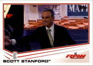 2013 WWE (Topps) Scott Standford 37