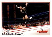 2013 WWE (Topps) Brodus Clay 6