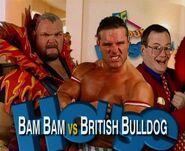 IYH 3 Bam Bam v Bulldog