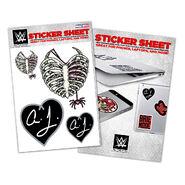 AJ Lee Vinyl Sticker Sheet