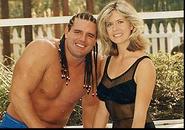 Davey Boy Smith & Diana Hart