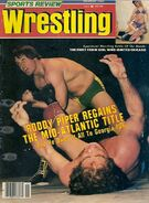Sports Review Wrestling - November 1982