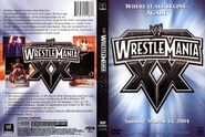 WWF Wrestlemania XX- Cover