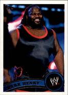 2011 WWE (Topps) Mark Henry (No.69)