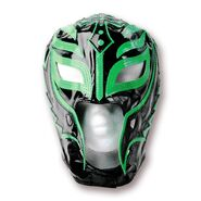 Rey Mysterio Half Green & Black Replica Mask