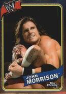 2008 WWE Heritage III Chrome Trading Cards John Morrison 52