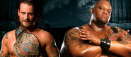 CM Punk v Big Daddy V No Mercy 2007