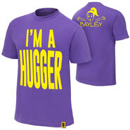 Bayley I'm A Hugger Authentic T-Shirt