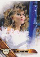 2016 WWE (Topps) Miss Elizabeth 78