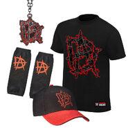 Dean Ambrose This Lunatic Runs The Asylum Halloween T-Shirt Package
