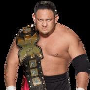 Samoa joe nxt champion by nibble t-da07x98