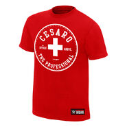 Cesaro The Professional Authentic T-Shirt