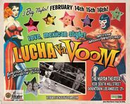 Lucha VaVoom Poster 11