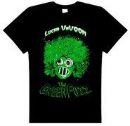 Lucha VaVoom Green Fuzz T-Shirt