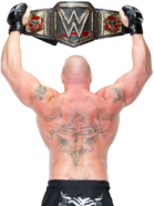 Brock lesnar wwe world heavyweight champion by nibble t-d9j3t1g