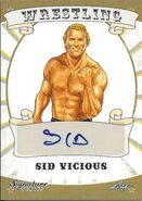 2016 Leaf Signature Series Wrestling Sid Vicious 76