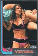 2008 WWE Heritage III Chrome Trading Cards Victoria 69