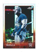 2015 Chrome WWE Wrestling Cards (Topps) Triple H 72