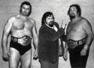 King Curtis Iaukea and Mikel Scicluna