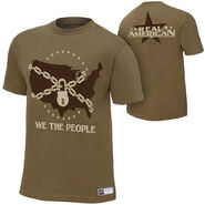 Jack Swagger We The People Authentic T-Shirt