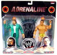 WWE Wrestling Adrenaline Series 37 Ted DiBiase & Ted DiBiase Jr.
