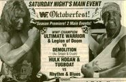 Saturday Night's Main Event XXVIII Ad