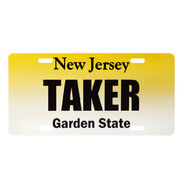 Undertaker NJ License Plate