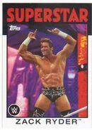 2016 WWE Heritage Wrestling Cards (Topps) Zack Ryder 35